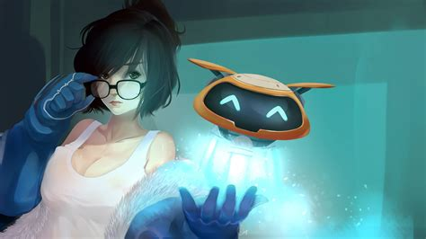 Overwatch Wallpaper Anime - overwatch mei wallpaper 183 free wallpapers for