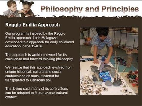 reggio principles reggio inspired early learning public