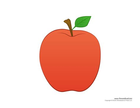 printable apple templates to make apple crafts for preschool 945 | preschool apple crafts 1