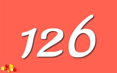 Numbers Number 126