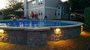 Kosten Pool Bauen Lassen : above ground pool landscape pinterest piscina pvc casa jardin y piscinas ~ Markanthonyermac.com Haus und Dekorationen