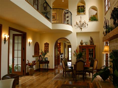 Interiors of Mediterranean Style Homes Spanish Style Homes