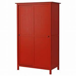 Ikea Kleiderschrank Schiebetueren : hemnes kleiderschrank mit 2 schiebet ren rot ikea oder ~ Lizthompson.info Haus und Dekorationen