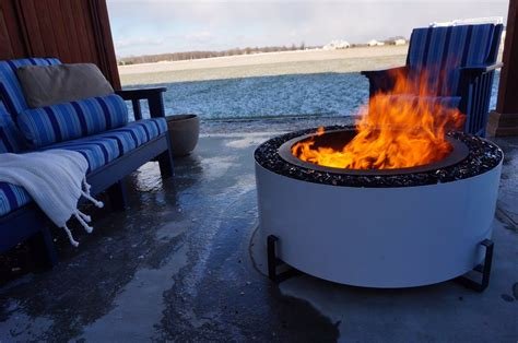 This fire pit serves as. Breeo Firepits Archives - North Forge fireplaces, inserts ...