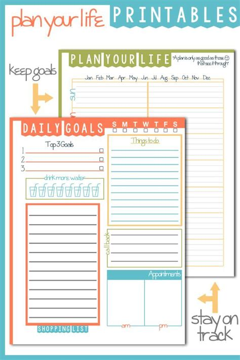 to do list template printable pinterest 98 best images about other printables for planners on
