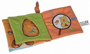 Livre éveil Bébé : livre tissu b b veil avec winnie l ourson jouet disney ~ Teatrodelosmanantiales.com Idées de Décoration