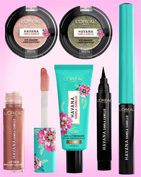 Camila Cabello Havana Makeup New Beauty Line With