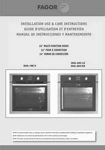 Fagor 5ha-200rx Oven Download Manual For Free Now