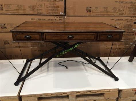 costco height adjustable desk turnkey sit n stand desk adjustable height costcochaser