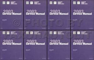 2003 Silverado  U0026 Sierra Repair Shop Manual Original 5