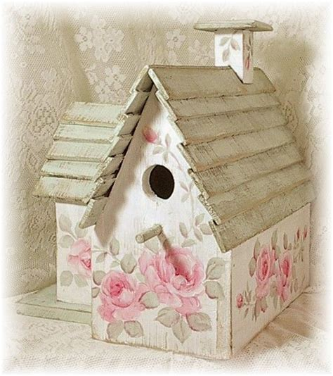 shabby chic birdhouse 1000 ideas about bird houses painted on pinterest birdhouses painted birdhouses and wooden