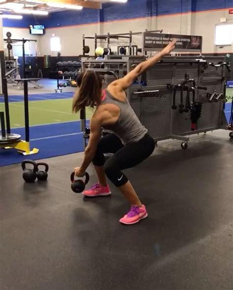 instagram fitness workout kettlebell clark hannah eden workouts plan body alexia tips likes motivation ig gemerkt von visit reps sunday