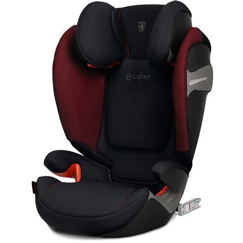 I show how to use it with a front carry and a back carry. Cybex Solution S-Fix Victory Black Scuderia Ferrari Child ...