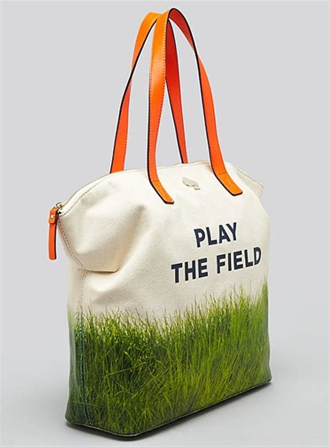 kate spade  york play  field call  action tote