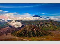 Mount Bromo Active Volcano Tengger Massif In East Java