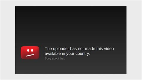 Video Unavailable Your Country Workaround Youtube