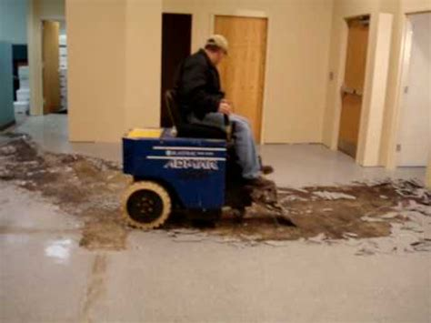 blastrac bms220 electric floor tile