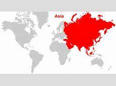 Peta Benua Asia Lengkap dengan Negara, Batas Wilayah