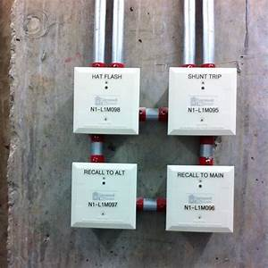 Control Modules For The  Fire Alarm And Elevator Controls