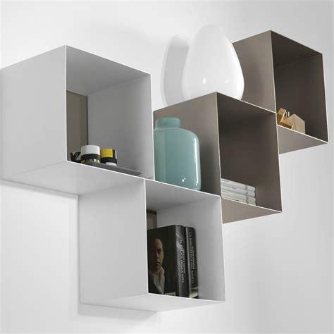 mensole da parete design mensole cubi da parete componibili per cameretta