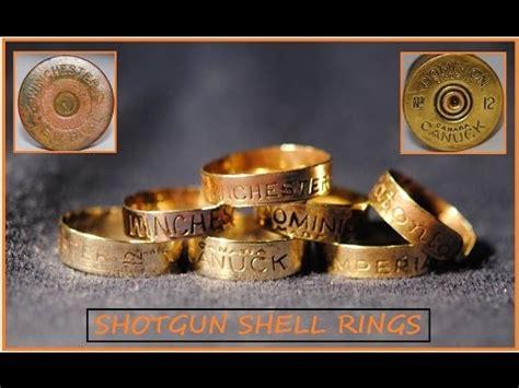 beautiful shotgun shell rings youtube