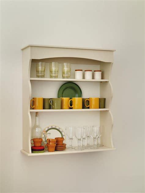 Antique White Decorative Wall Shelves