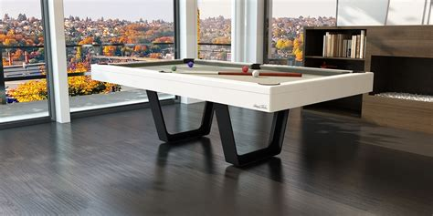 white pool table dining table pool dining tables with modern white and gray color with