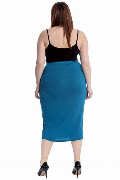 Skirts Ladies Pencil Skirt Office Bodycon Womens