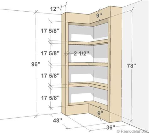 how to build your own bookshelf build your own corner bookshelves