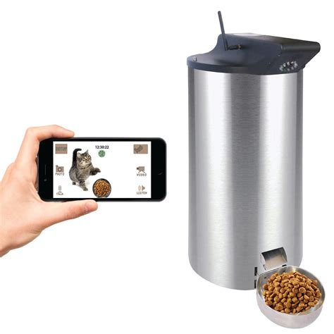 automatic pet feeder petpal wifi automatic cat food dispenser review smrod cats