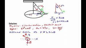 Centripetal Force Example 1 Part A