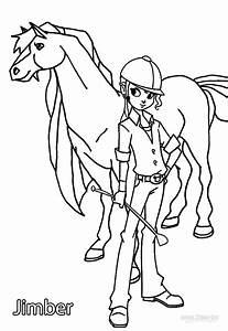 Printable Horseland Coloring Pages For Kids