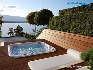 Eingelassene whirlpools whirlpools nrw fur den garten for Whirlpool garten mit bonsai wo kaufen