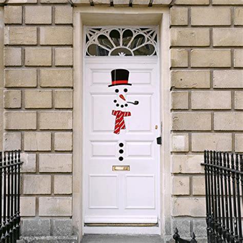christmas decoration snowman magnet set animated figure