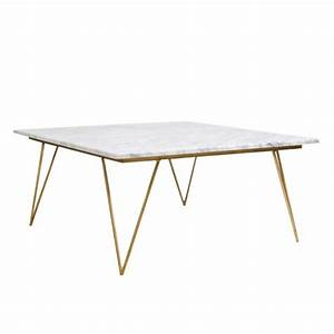worlds away 126400 marble coffee table neal gw hairpin With white coffee table with gold legs