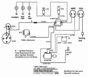 1954 Ford Naa Tractor Wiring Diagram 41264 Nostrotempo It