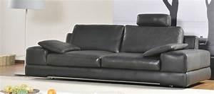 Canapé Très Confortable : un canap design mais confortable bienvenue aux canap s cuir avec t ti res canap show ~ Teatrodelosmanantiales.com Idées de Décoration