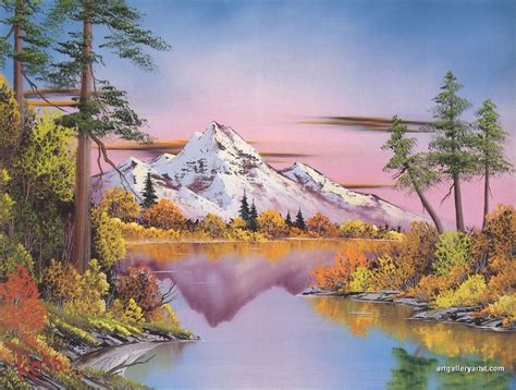 Bob Ross Paintings, Bob Ross Art Gallery, Bob Ross Artwork