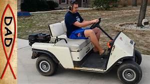 Gas Ez Go Golf Cart Upgrade And Fix