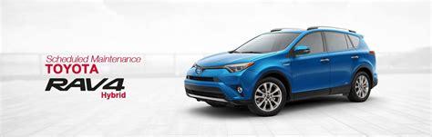 Toyota Service Schedule by Toyota Rav4 Hybrid Scheduled Maintenance South Dade