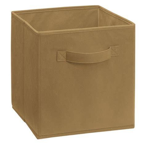 Closetmaid Cubeicals Fabric Drawers - shop closetmaid 10 5 in x 11 in 1 drawer mocha fabric