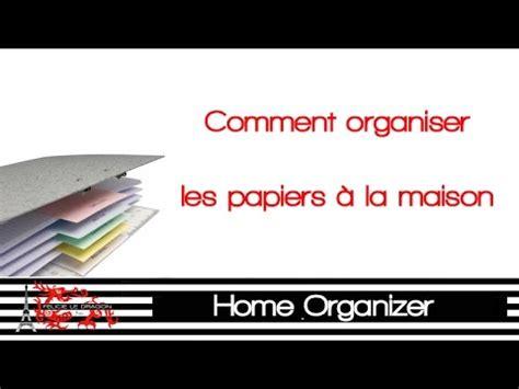 comment ranger ses papiers