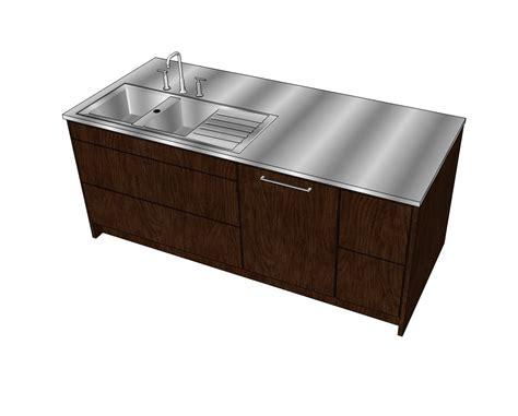 bloc cuisine autocad 2d and 3d cad models kitchen islands cadblocksfree cad