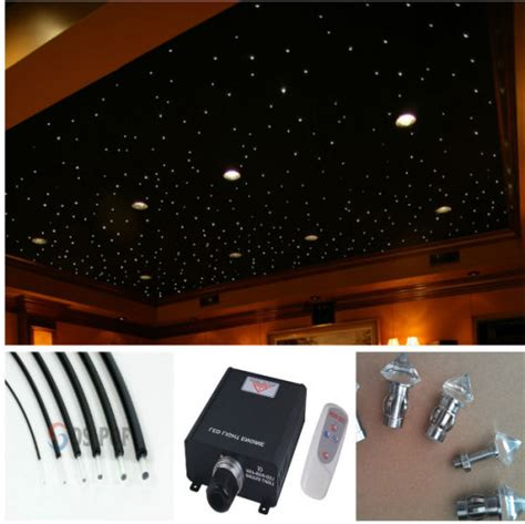plafond ciel etoile fibre optique fibre optique fin c 226 ble de lumi 232 re 233 clairage led illumination ciel 233 toil 233 au plafond de