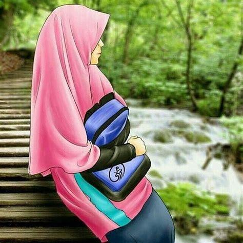 gambar dp bbm hijab muslimah syari terbaru gambar kata