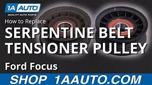 How To Replace Serpentine Belt Tensioner Pulley 00