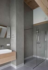 Badezimmer Farbe Statt Fliesen : dusche putz statt fliesen verschiedene ~ Michelbontemps.com Haus und Dekorationen