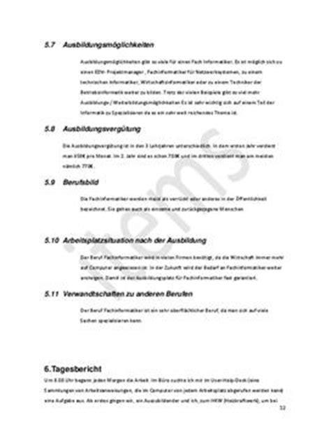 praktikumsbericht anregung schulhilfede