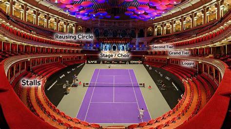 view   seat tennis layout royal albert hall