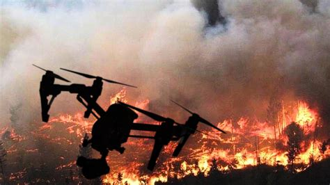drones  helping fight californias wildfires